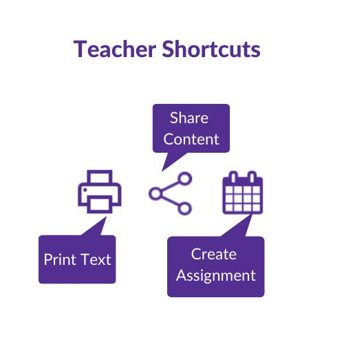 Teacher Shortcuts